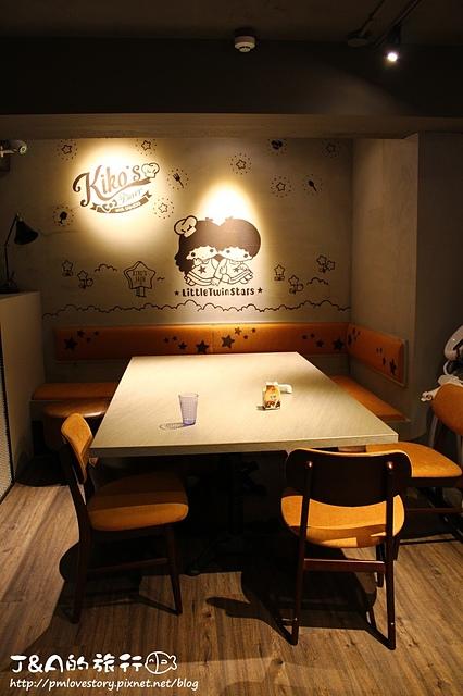 【捷運忠孝敦化】Kiko's Diner 夏威夷漢堡排飯專賣店–卡哇伊的三麗鷗卡通主題美式餐廳!