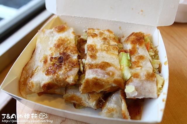 【捷運小巨蛋】Box巴克斯手工蛋餅專賣店(八德店)–酥脆手工蛋餅、用烤的韭菜盒&高麗菜盒健康又涮嘴!