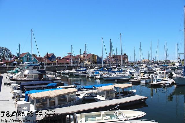【美國西岸♥Long Beach】Shoreline Village–各種可愛小屋,相機快門按不停~