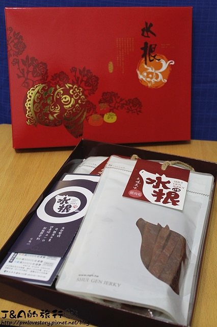 【宅配美食】水根肉乾–過年送禮推薦、喜氣洋洋的紅色包裝好耀眼! 彰化伴手禮推薦