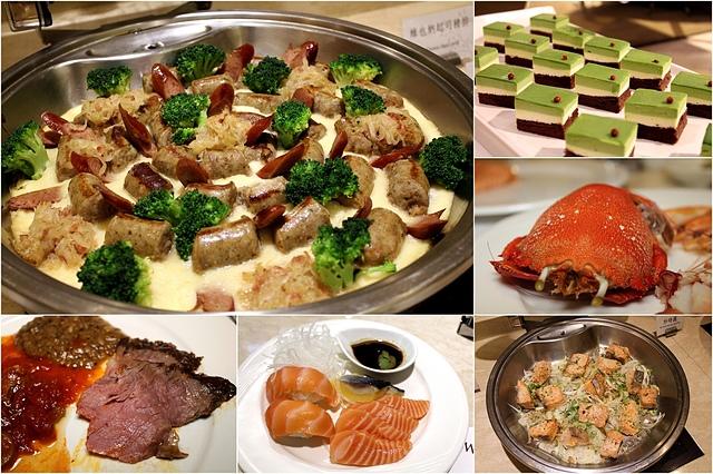 五星級吃到飽,海鮮.生魚片.牛排.法式羊排.起司 通通吃到飽。富信大飯店 樂廚自助餐廳 Delight Buffet