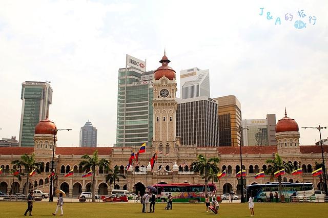 【馬來西亞旅遊❤吉隆坡一日遊景點】國家皇宮 Istana Negara + 國家英雄紀念碑 National Monument + 獨立廣場周邊景點 Merdeka Square。吉隆坡旅遊景點推薦/吉隆坡婚紗拍攝景點推薦